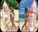Planche de surf pour shockwawe