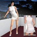 Costume blanc erotique